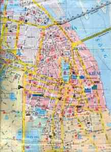 Bản đồ trung tâm Hà nội